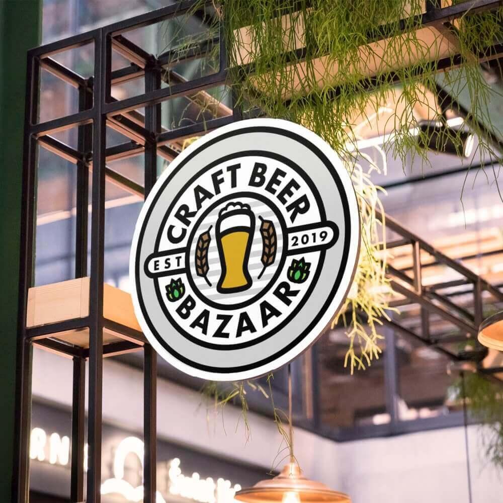 クラフトビールの祭典 CRAFT BEER BAZAARのロゴデザイン