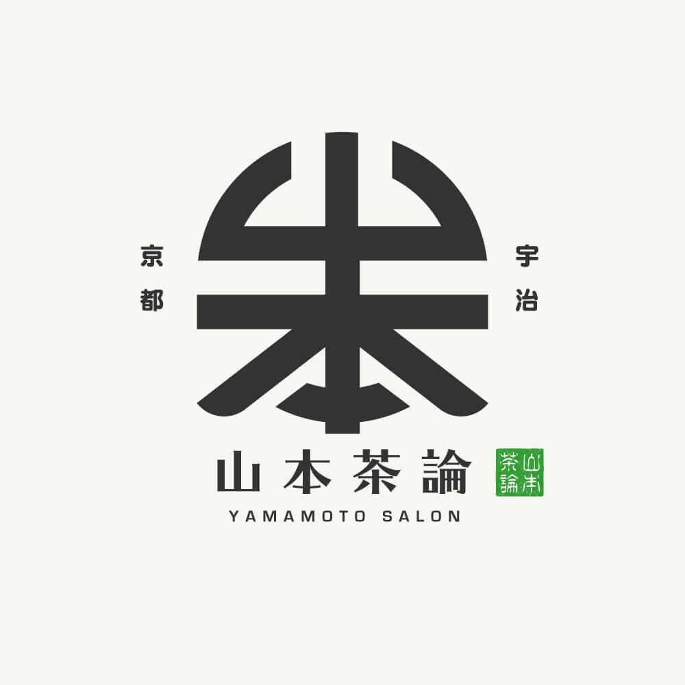 緑茶専門カフェ DLC:Day4 山本茶論のロゴデザイン